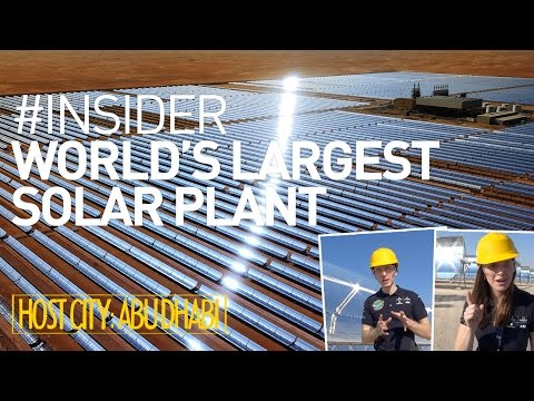 Solar Impulse Airplane: Masdar's Largest Solar Plant - #Insider