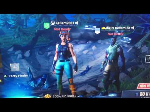 How to Play Fortnite With Xbox/Ps4/PC on your Nintendo Switch // Cross Platform!!!