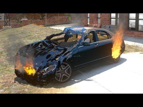 GTA 4 Crash Testing Real Car Mods #2