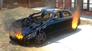 GTA 4 Crash Testing Real Car Mods #2