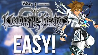 Easy Way to Get Final Form - Kingdom Hearts HD 2.5 Remix