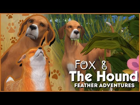 Attacked by a Squirrel?! 🦊🐶 Sims 4: Fox & The Hound • Feather Quest • Episode #2