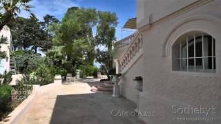 Location villa de luxe Cap d'Antibes