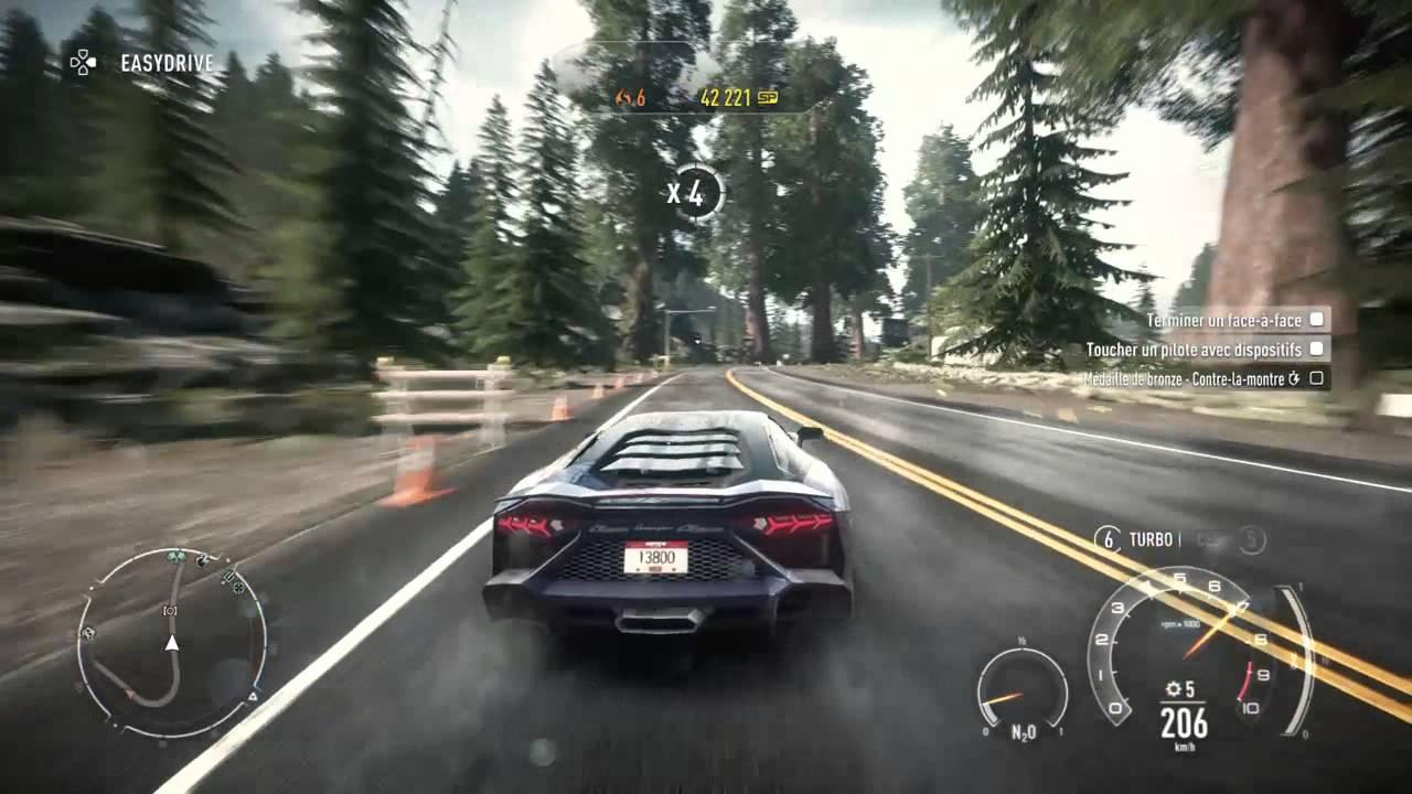 Need For Speed Rivals Detente En Voiture De Course Dans La Ville