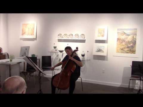 Ralph Shapey: Krosnick Soli - Gwen Krosnick, cellist (with intro talk)