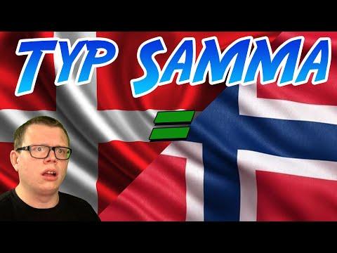 DANMARK & NORGE ÄR JU TYP SAMMA