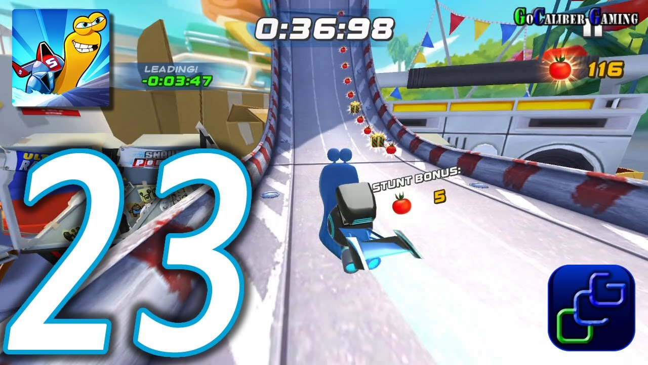 TURBO FAST Android Walkthrough - Part 23 - Class 4: Radish CUP - YouTube