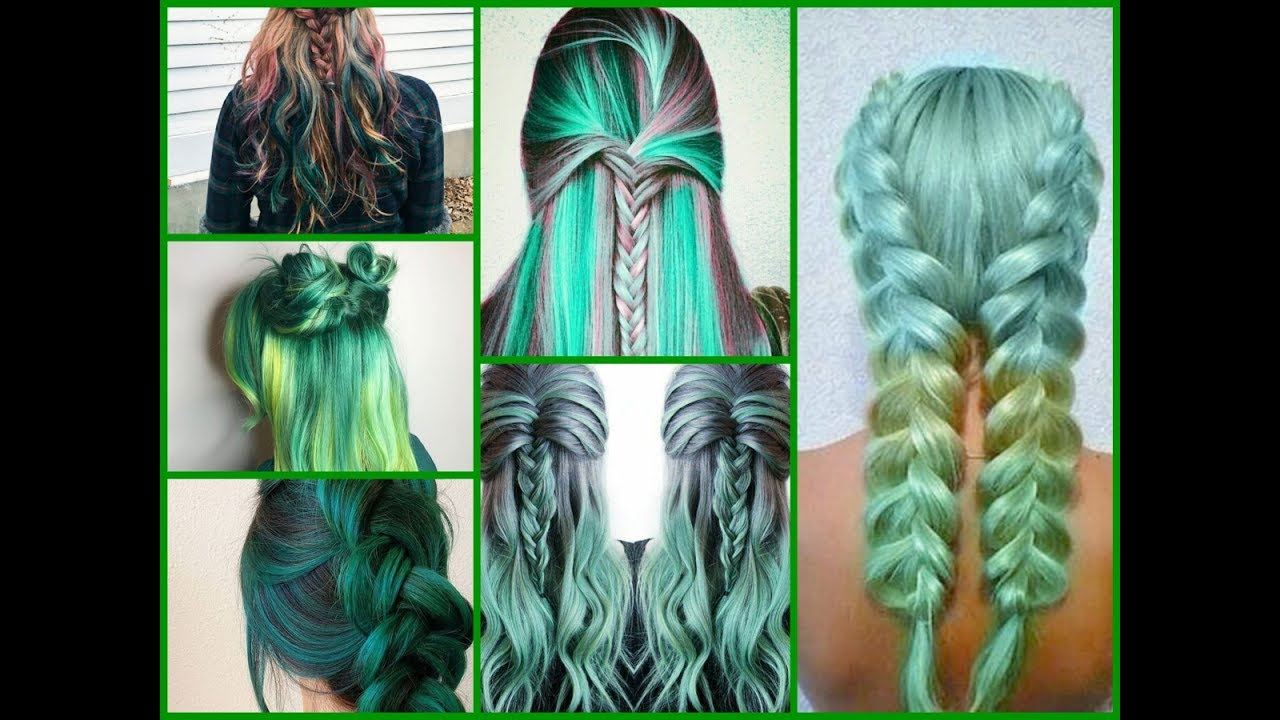 Best Green Hair Dye Ideas Hair Color Trends 2018 Youtube