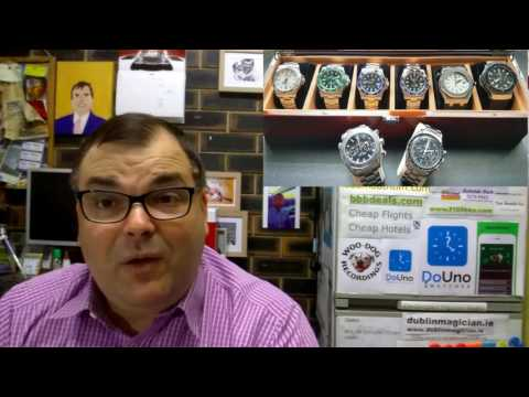 PAID WATCH REVIEWS - Gene's Watch Collection spoiled by a Hublot