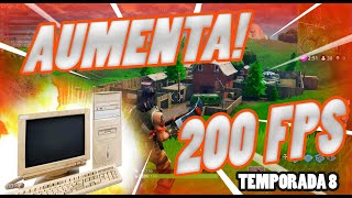 HOW TO INCREASE +FPS (WITHOUT LAG) in FORTNITE Temp8 %100 REAL 2019 (PC or Laptop)📈💻