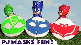 Pj Masks Fun With Play Doh Logos With Thomas The Train And Cars Mcqueen Tt4u