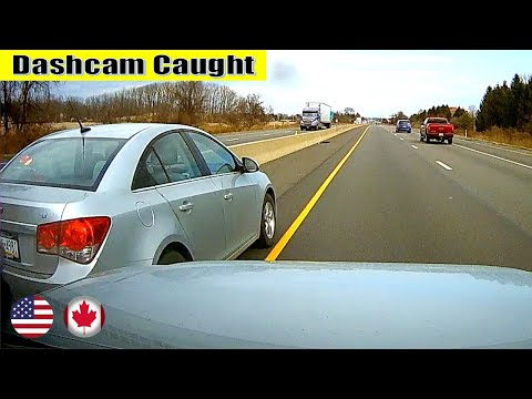 Ultimate North American Cars Driving Fails Compilation - 162 [Dash Cam Caught Video]