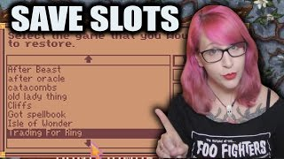 Are Save Slots DEAD?: The Art of Saving Your Game