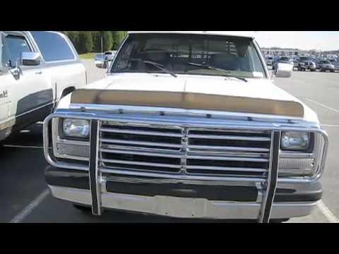 1991 dodge ram 250 cummins turbo diesel start up exhaust and tour youtube. Black Bedroom Furniture Sets. Home Design Ideas