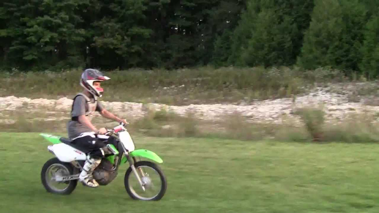 Klx 125 Jumping Youtube