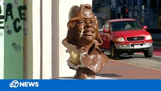 Bust Of Breonna Taylor Vandalized In Oakland