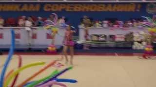 """Художественная гимнастика. Выступление с лентой. XVI турнира """"Ника"""" (Владивосток, 30 мая 2013 года)"""