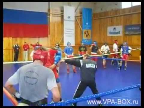 УТС перед Чемпионатом России по Боксу - 2010