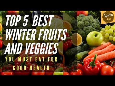 Top 10 Winter Fruits And Veggies You Must Eat   Eat Healthy 🔥