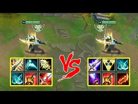 CRIT Yi vs. ON-HIT Yi