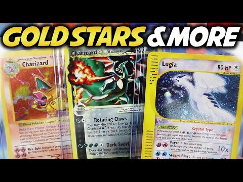 HUGE Gold Star Pokemon Card lot and Ebay Deals! Cards I never thought I would own!