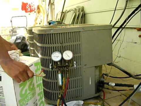 How To Charge An Air Conditioner That Is Low On Freon T