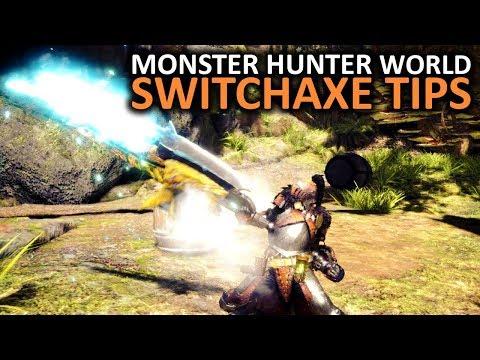 Monster Hunter World Switch Axe Tips thumbnail