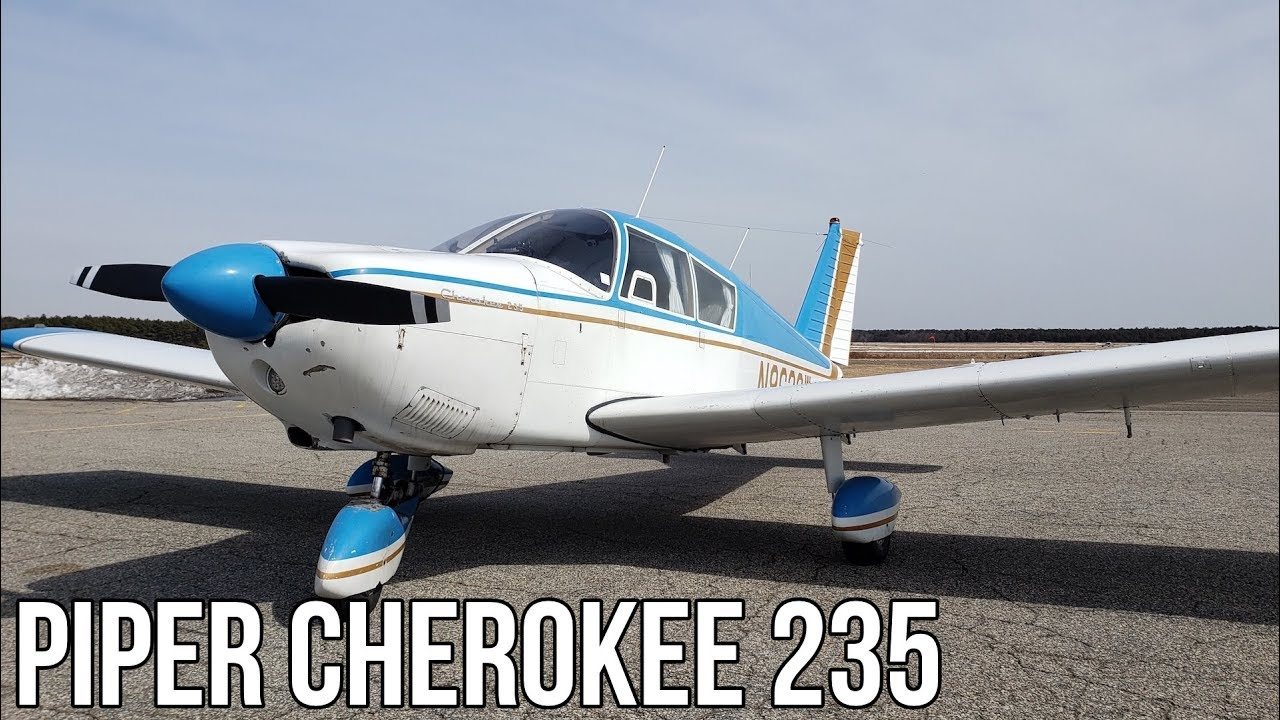 Perfect First Airplane l Piper Cherokee 235