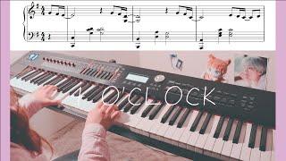 BTS - RM & V 네시 (4 O'CLOCK) Piano Cover