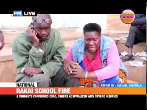 #PMLive: RAKAI SCHOOL FIRE - Student Held as key Suspect