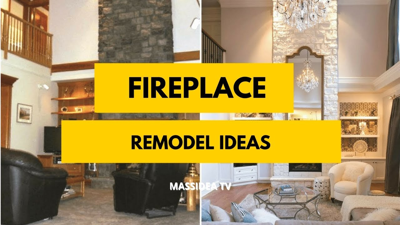 60+ Best Fireplace Remodel Ideas Before and After 2018 - YouTube