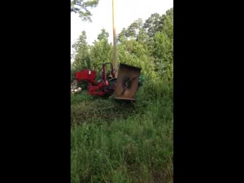 Hardee H360 Co Ditch Bank Cutter Used For Sale Youtube