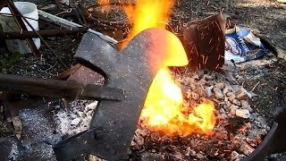 Make a Blacksmithing Forge quick and easy