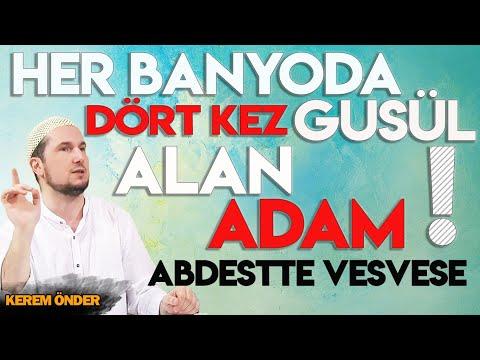 Abdestte vesvese (Dört kez gusül alan adam) / Kerem Önder