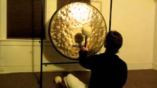 "38"" Sound Creation Gong w/ M7 Mallet (demo from Artdrum.com)"