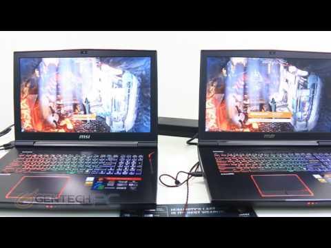 MSI GT73VR SLI 1070 vs GTX 1080 H2H Showdown