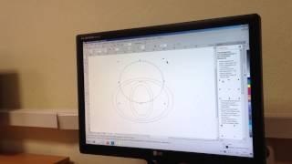Видео урок Coreldraw - создание логотипа Toyota