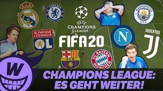 WUMMS zockt: Champions League Achtelfinale