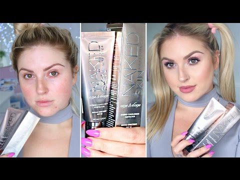 NEW Urban Decay Naked Skin One & Done ♡ First Impression Review