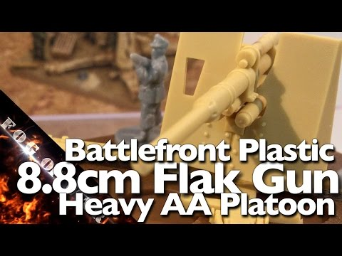 Review   BF 8.8cm Heavy AA Platoon 1/100 (15mm)   Flames of War