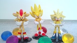 100th subscriber edition Sonic the Hedgehog Super Pack Toy Figures Review!!!!!!!! (Jazwares)