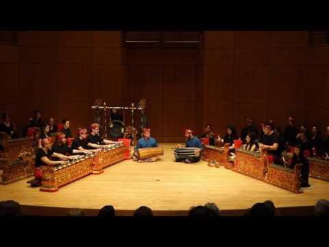 UBC Balinese Gamelan Ensemble  2017 Concert