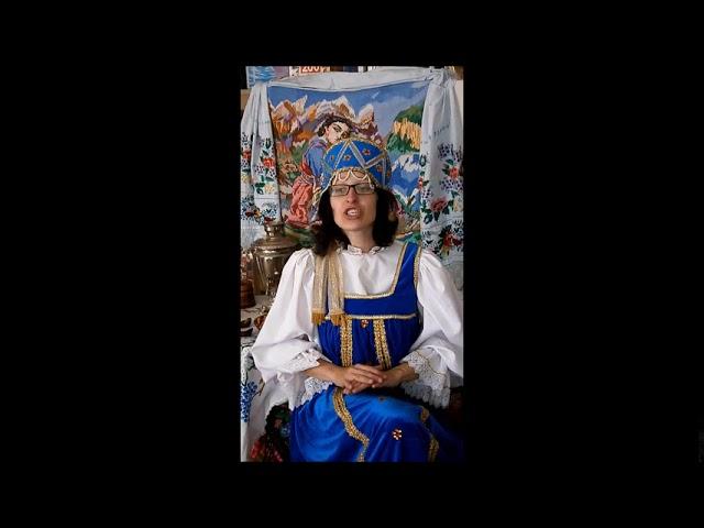 Изображение предпросмотра прочтения – ТатьянаПискунова читает произведение «Волга. Тихое утро.» (Русский фольклор )