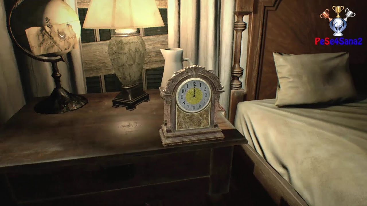 Resident Evil 7 Clock Puzzle Solution Master Bedroom Puzzle The Same Time As All Other