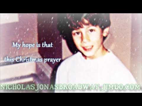 Nicholas Jonas - Joy to the World (A Christmas Prayer) LYRICS