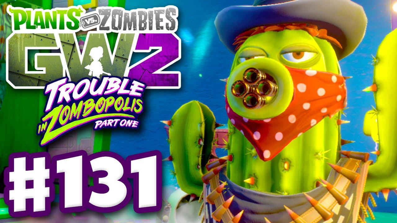 Zombies: Garden Warfare 2   Gameplay Part 131   Bandit Cactus! (PC)    YouTube