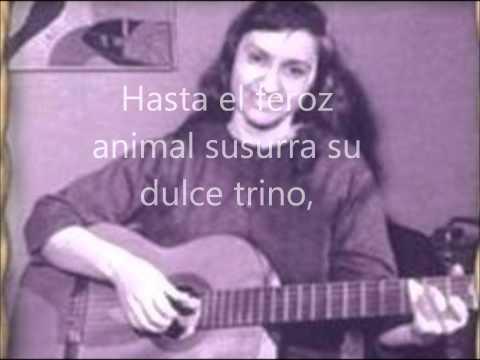 Violeta Parra - Volver a los 17 | Letra