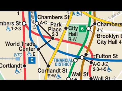 Nyc Subway Map 14 Th Street 2 Train To Park Place.How To Transfer From The 2 Train At Fulton Street To The 2 Train At Park Place One Station Away