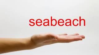 How to Pronounce seabeach - American English