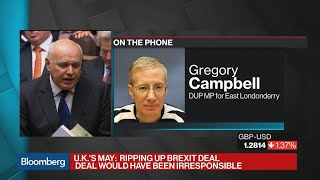 DUP MP Campbell Sees Many in Parliament Voting Against Brexit Deal